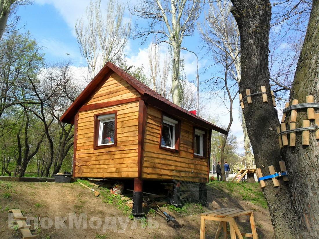 """thumb_Проект """"Ізбушка"""" для мотузкового парку пригод"""