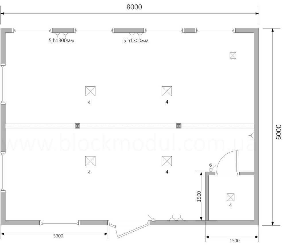 thumb_Быстромонтируемое модульное здание для коллег - Фото № 2