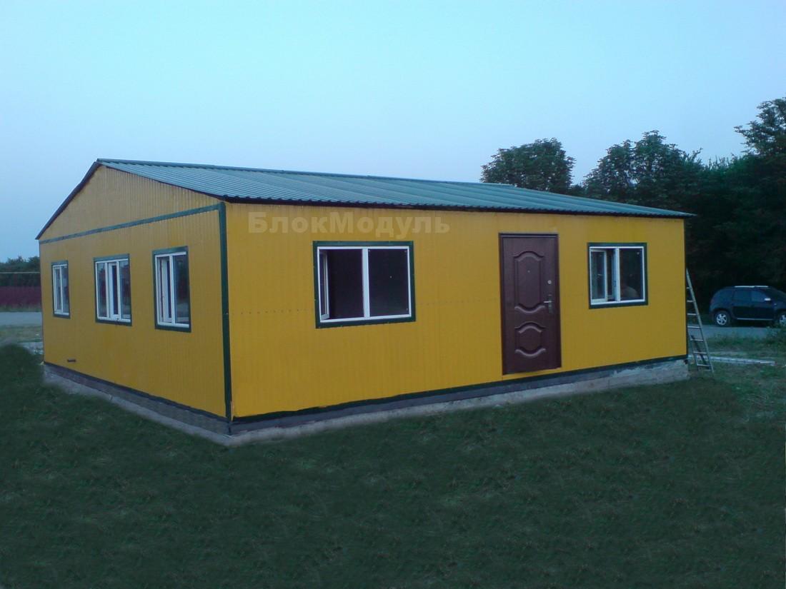 Модульная лаборатория 9х9м в г.Борщев