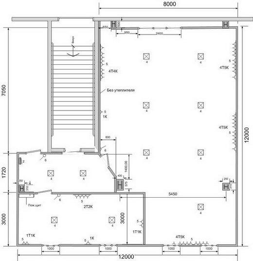 thumb_Модульный офис 12х12м внутри складского терминала - Фото № 4