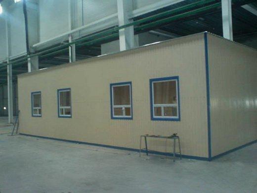 Модульный офис 12х12м внутри складского терминала