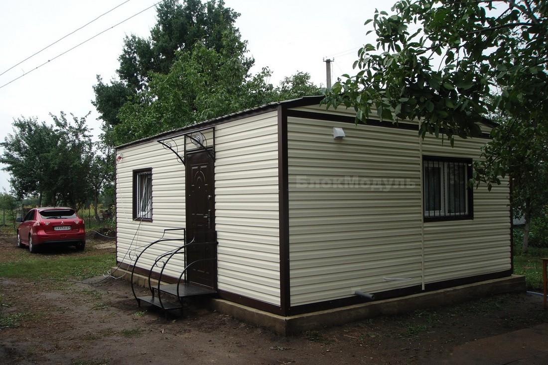 Дачный домик 6х5м в с. Козацкое
