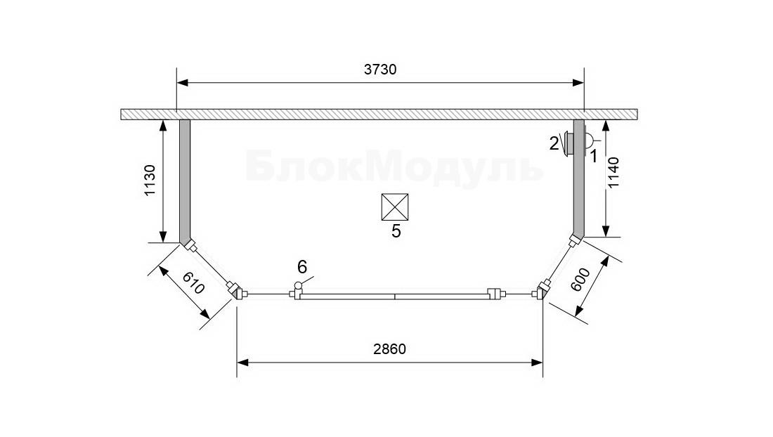thumb_Кухонні модулі та прибудова-хол для Ісламського центру - Фото № 10