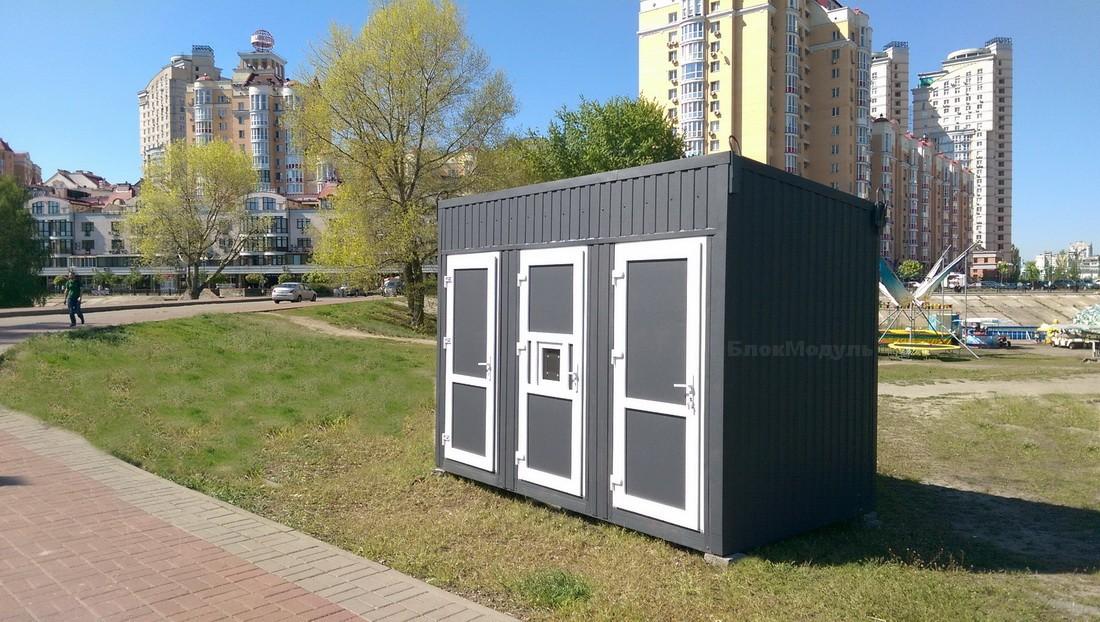 thumb_Санитарный блок 3.5х2м на Оболонской набережной - Фото № 4