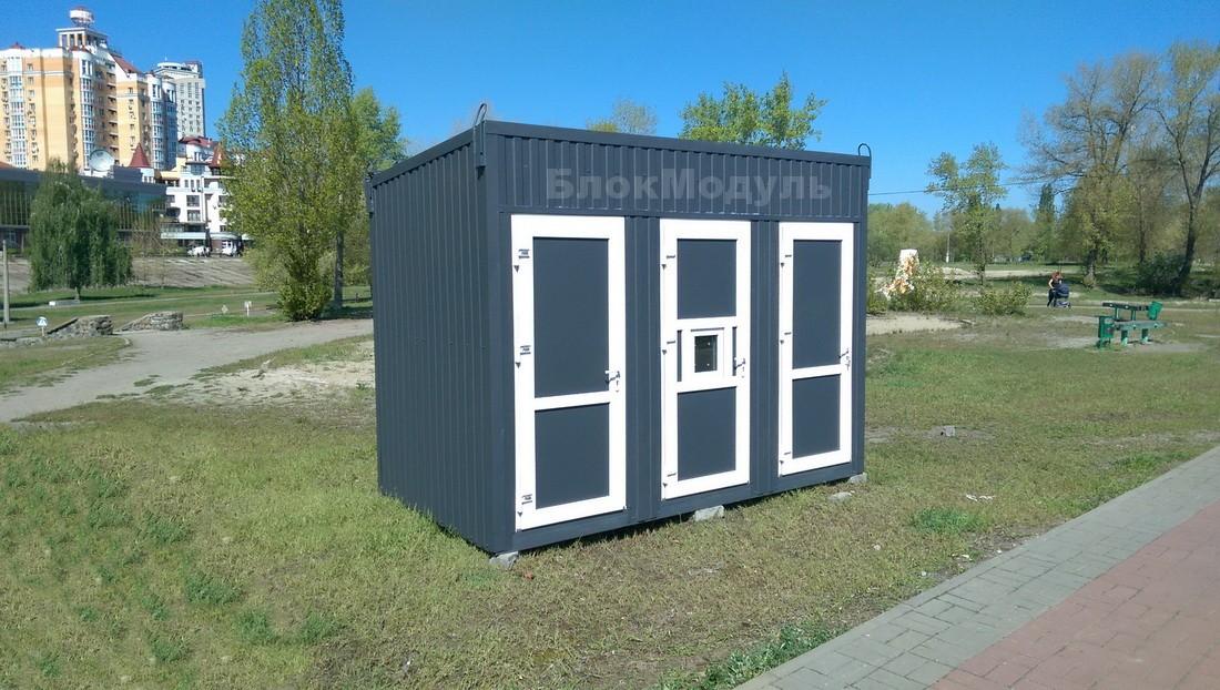 Санитарный блок 3.5х2м на Оболонской набережной
