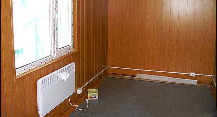 электро конвектор в бытовке