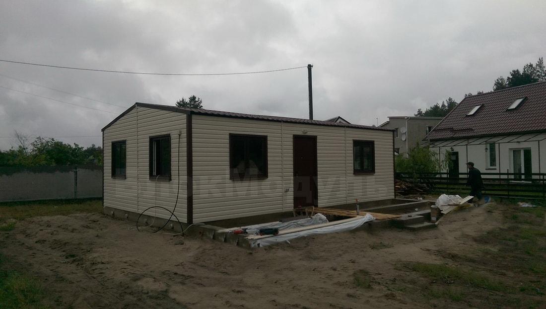 thumb_Каркасный дом премиум класса 9х6м с верандой в с. Дубечня - Фото № 13