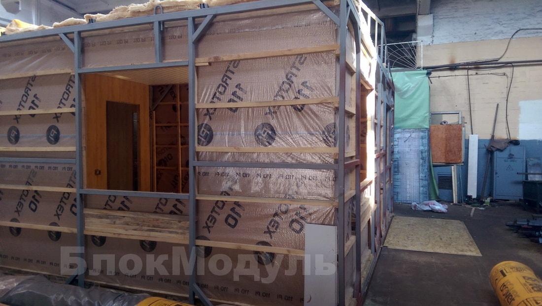 thumb_Каркасный дом премиум класса 9х6м с верандой в с. Дубечня - Фото № 4