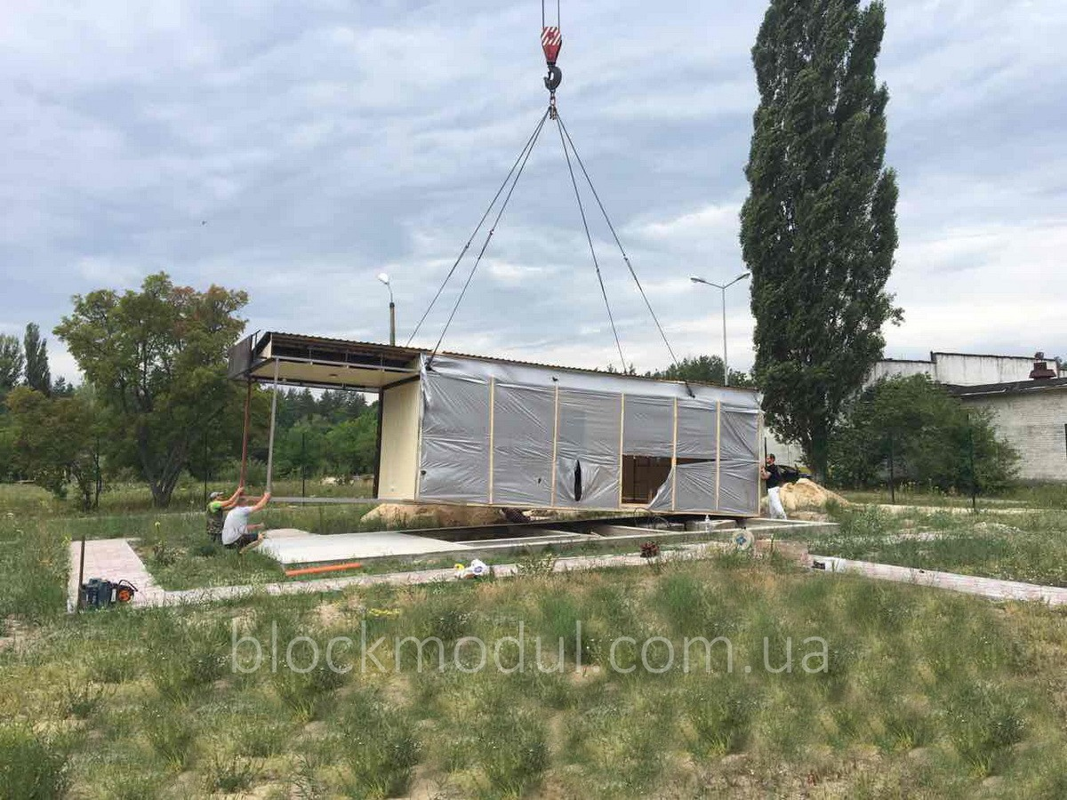 thumb_Адміністративно побутовий модуль 12х5м з верандою для ДП «Укркосмос» - Фото № 4