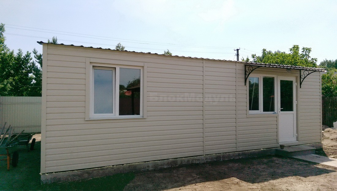 thumb_Модульный дом 8.5х6м для отдыха с комфортом. - Фото № 5