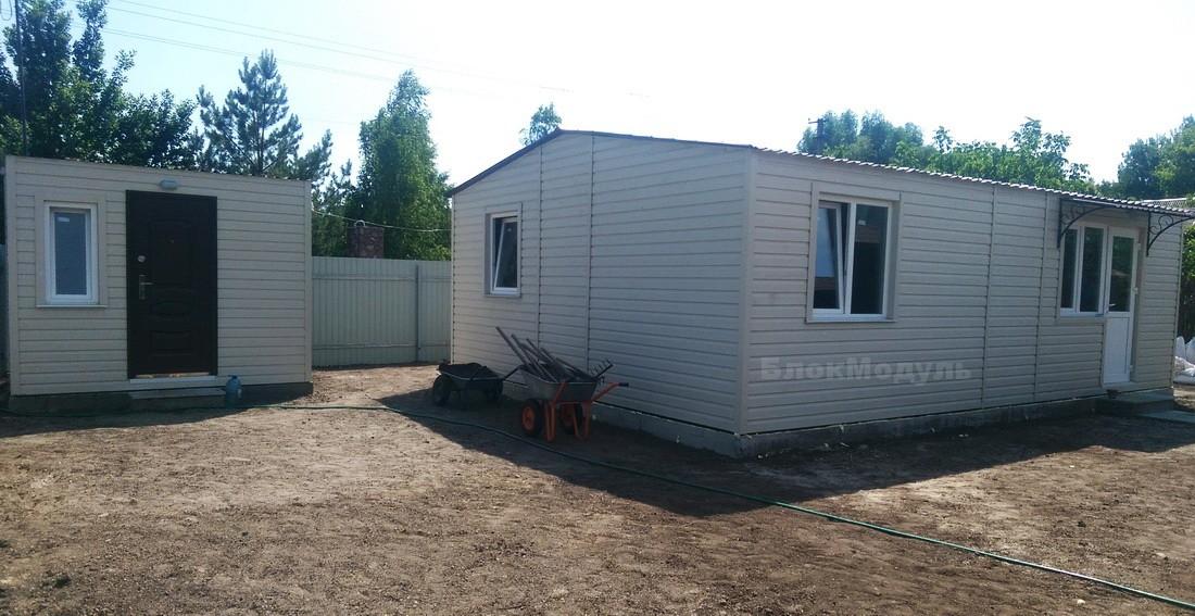 thumb_Модульный дом 8.5х6м для отдыха с комфортом. - Фото № 3