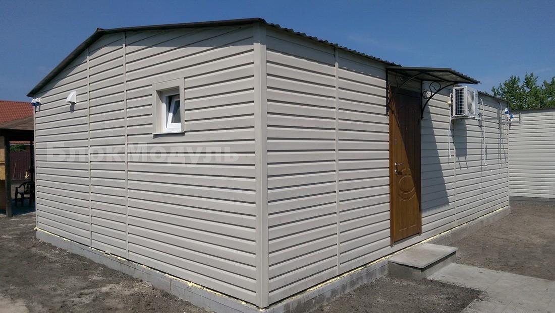 thumb_Модульный дом 8.5х6м для отдыха с комфортом. - Фото № 2