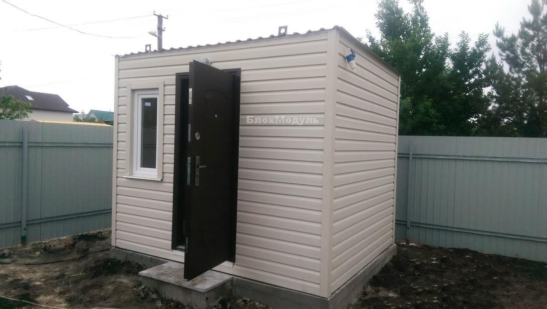 thumb_Модульный дом 8.5х6м для отдыха с комфортом. - Фото № 4