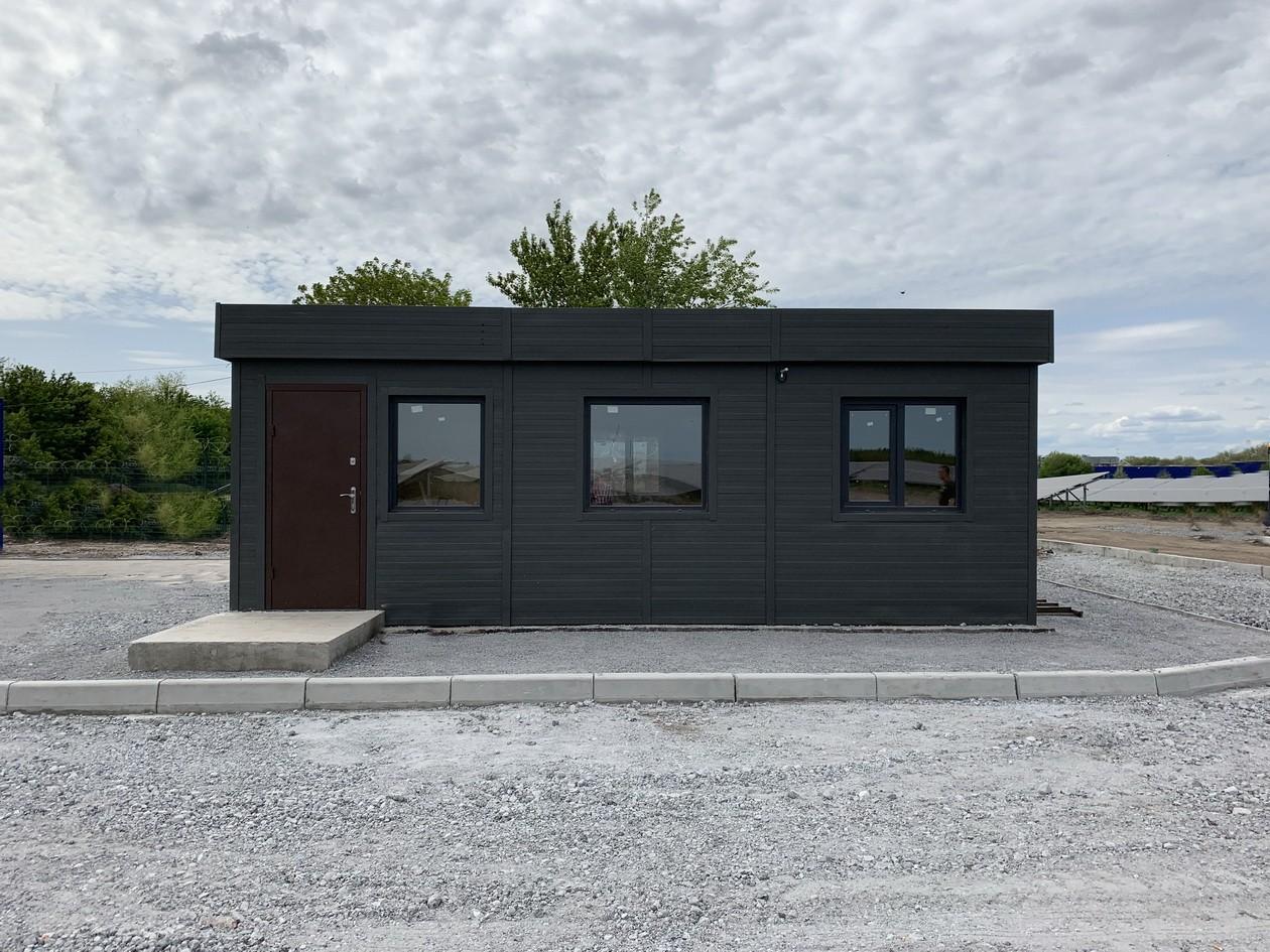 Модульный офис из блок-контейнера