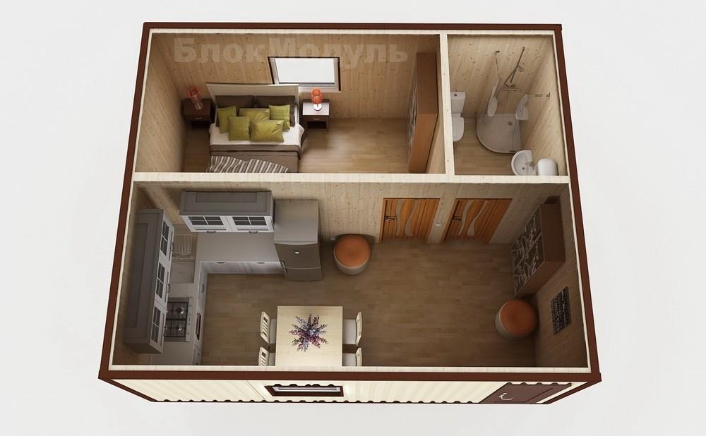 Дачный домик ДДМ1 - Фото № 3