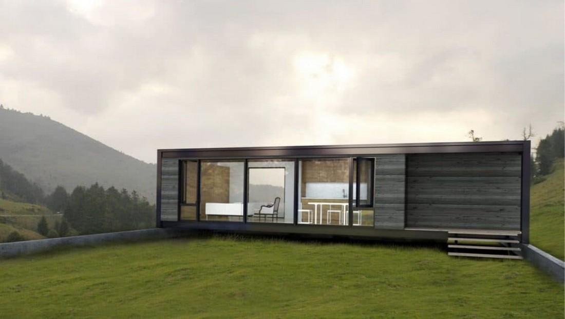 мобильный дом из металлокаркаса