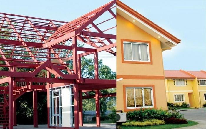 Який каркас для модульного будинку краще: дерев'яний або металевий?