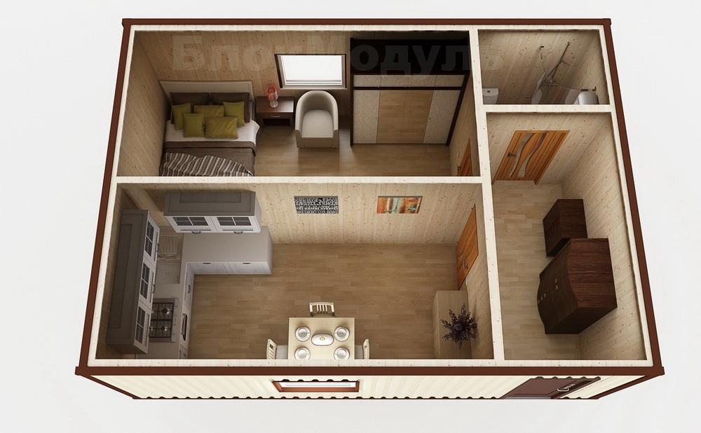 Модульный дом МД2