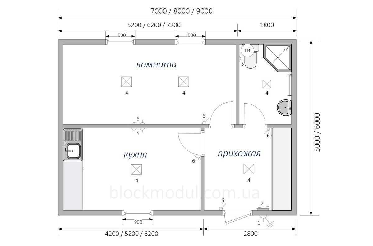 Модульный дом МД4 - Фото № 2
