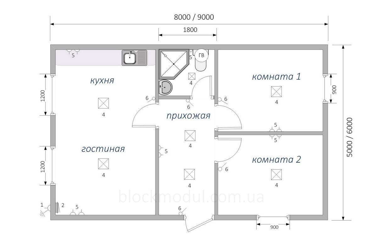 Модульный дом МД5 - Фото № 2