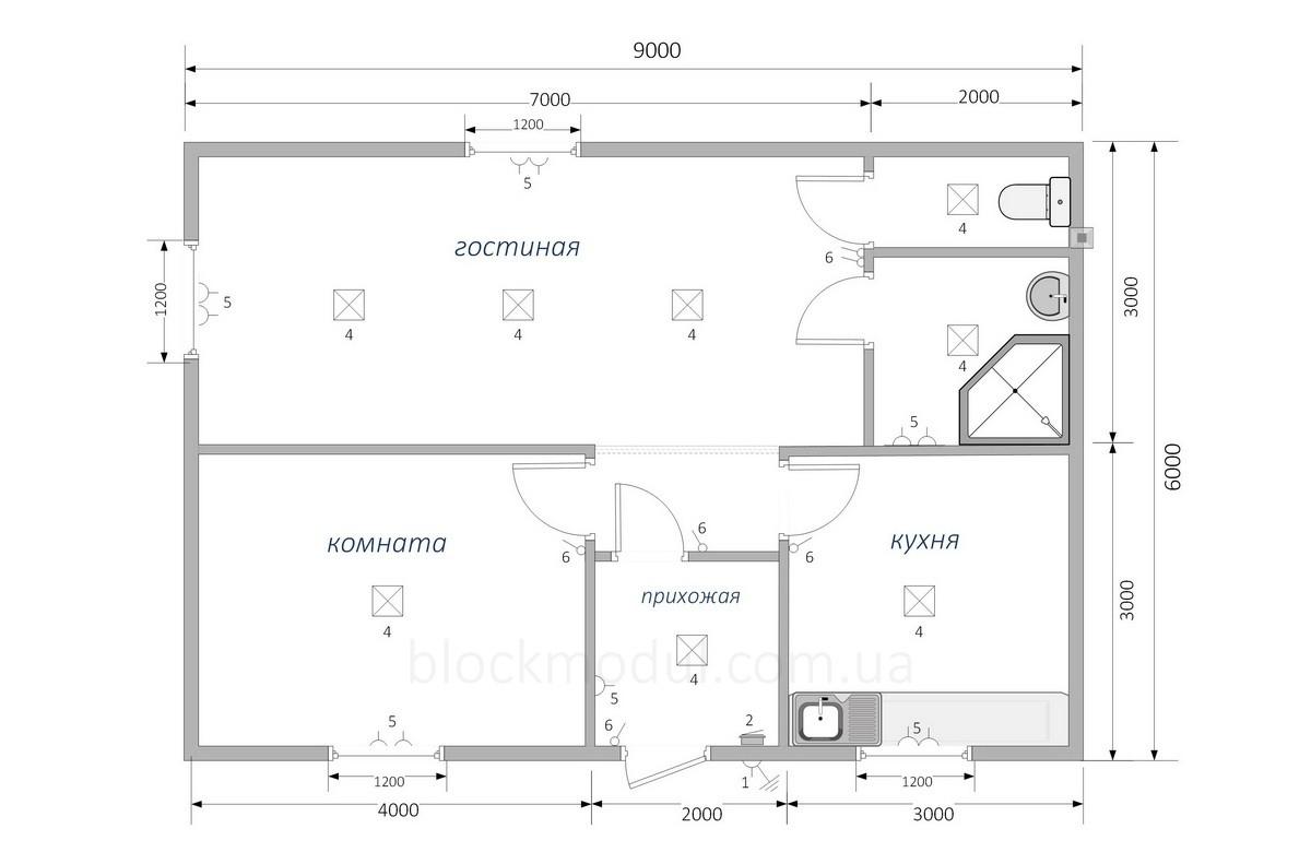 Модульный дом МД7 - Фото № 2
