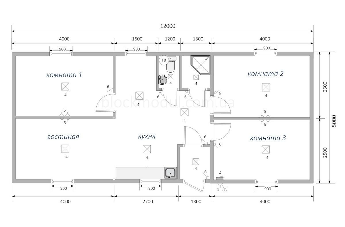 Модульний будинок МД8 - Фото № 2