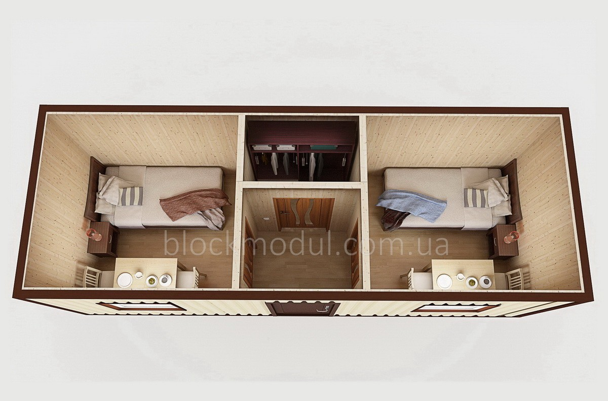 Битовка / Блок контейнер БК6
