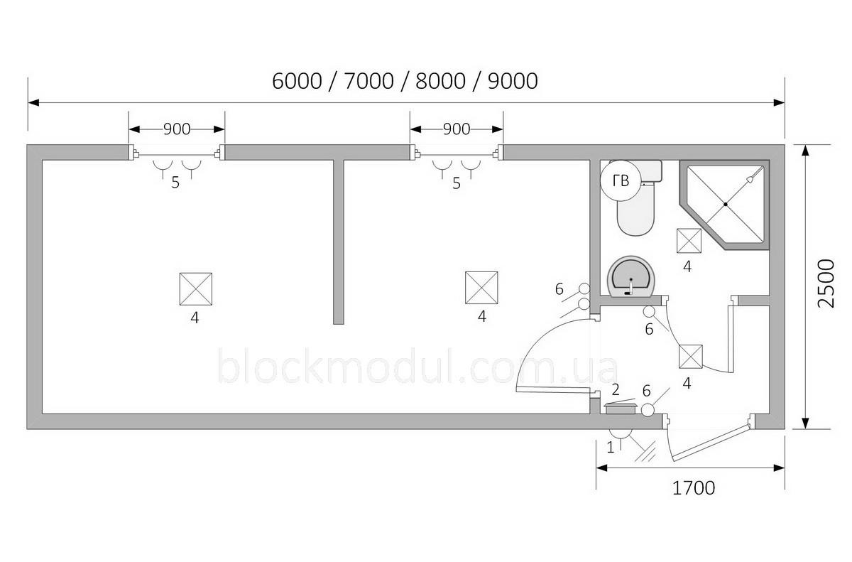 Битовка / Блок контейнер БК11 - Фото № 2