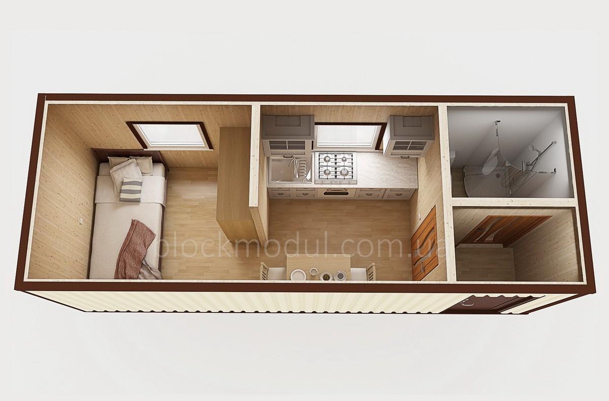Дачный домик ДД4