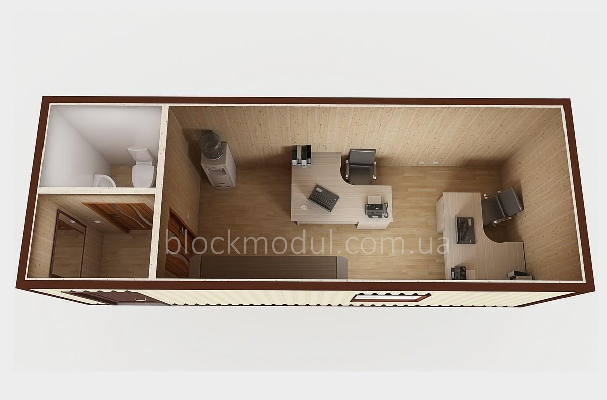 Модульний міні офіс ОФМ1