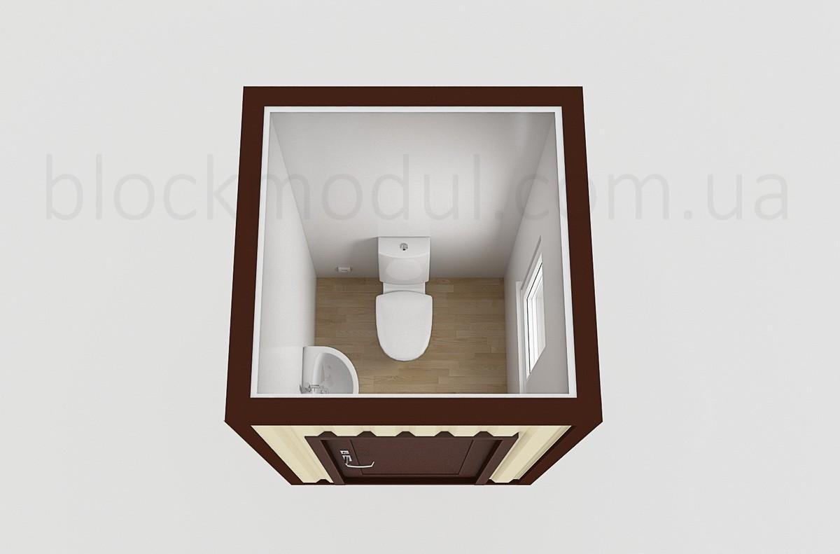 Туалетный модуль СБТ1