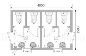 thumb_Туалетний модуль СБТ4 - Фото № 2