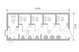 thumb_Туалетний модуль СБТ6 - Фото № 2