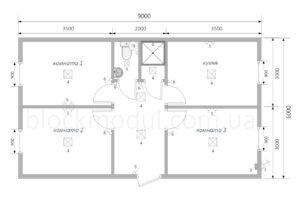 thumb_Модульное общежитие на 6 чел. ОМ1 - Фото № 2