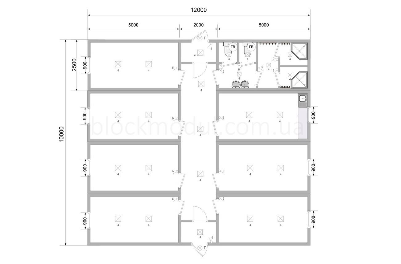 Модульный отель на 18 чел. ОМ2 - Фото № 2