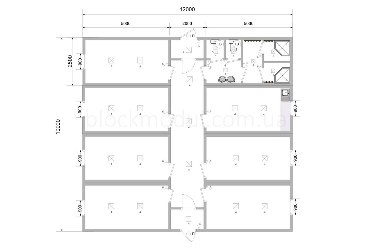 Модульний готель на 18 чол. ОМ2 - Фото № 2