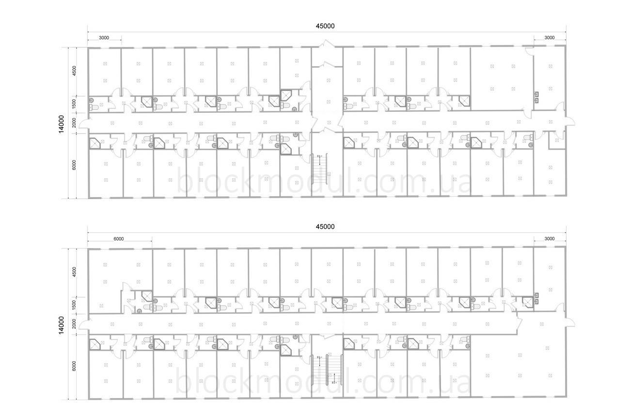 Модульное общежитие на 82 чел. ОМ7 - Фото № 2