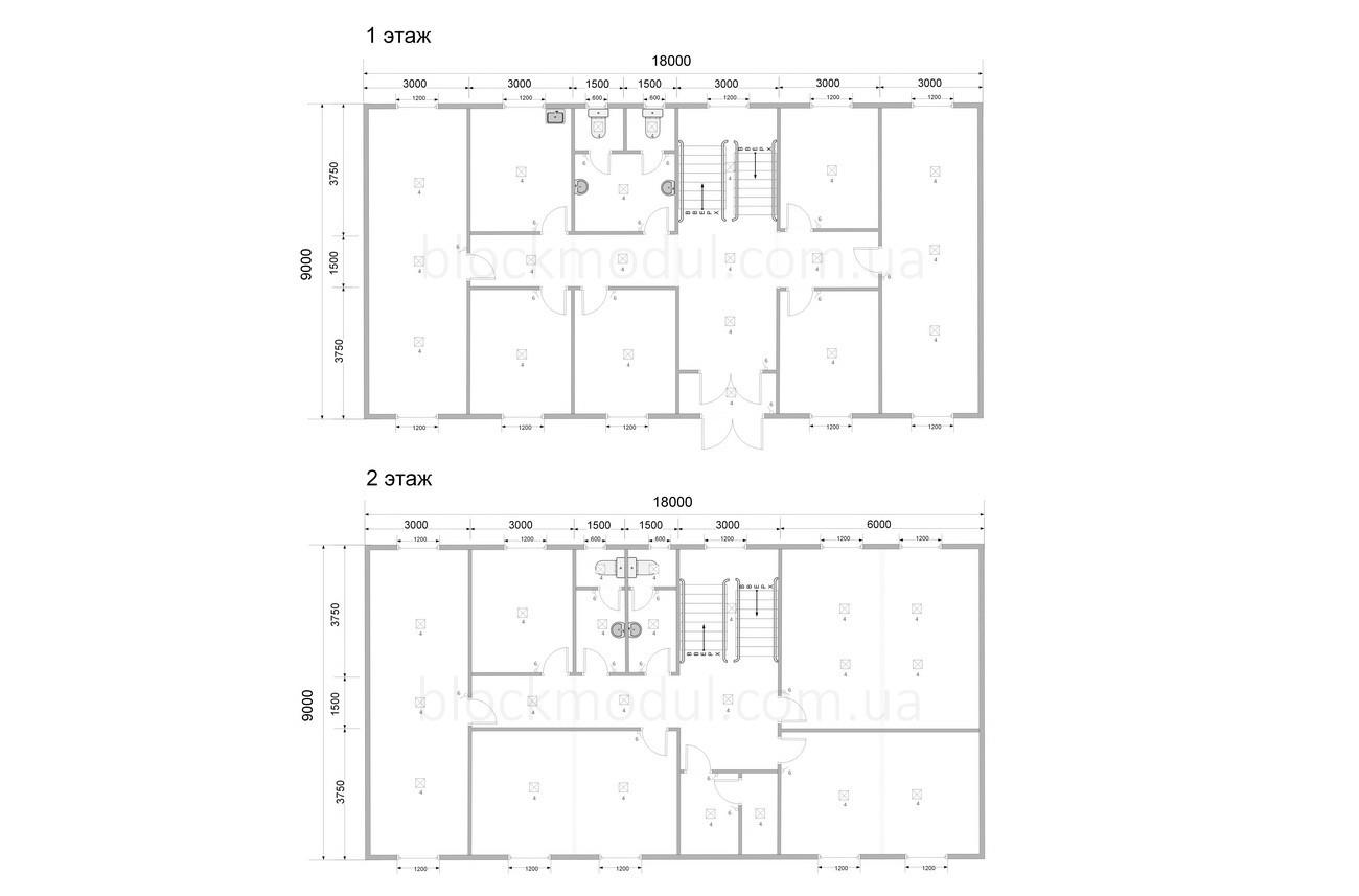 Модульный офис ОФМ11 - Фото № 2