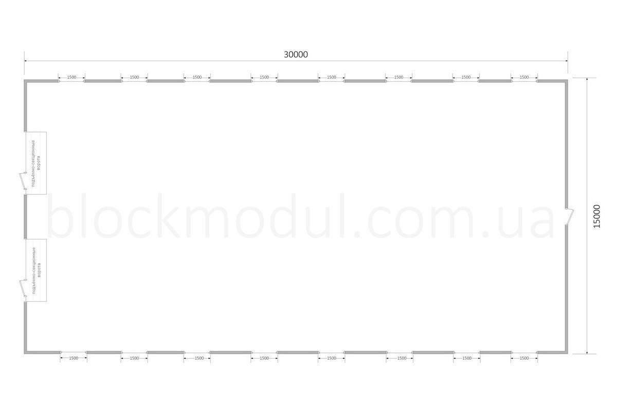 Ангар быстровозводимый А4 - Фото № 4