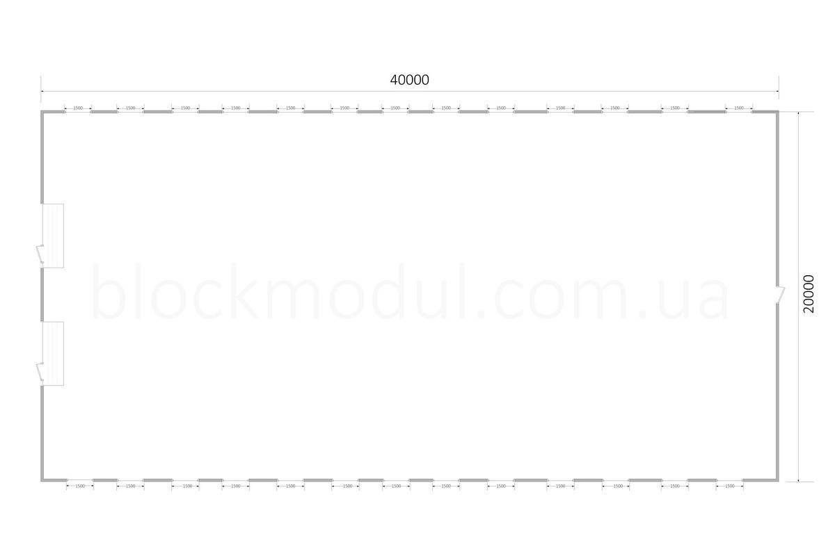 Ангар быстровозводимый А6 - Фото № 4
