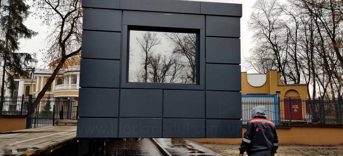thumb_Пост охраны в Гидропарк для БЦ «ВЕНЕЦИАНСКИЙ» - Фото № 5