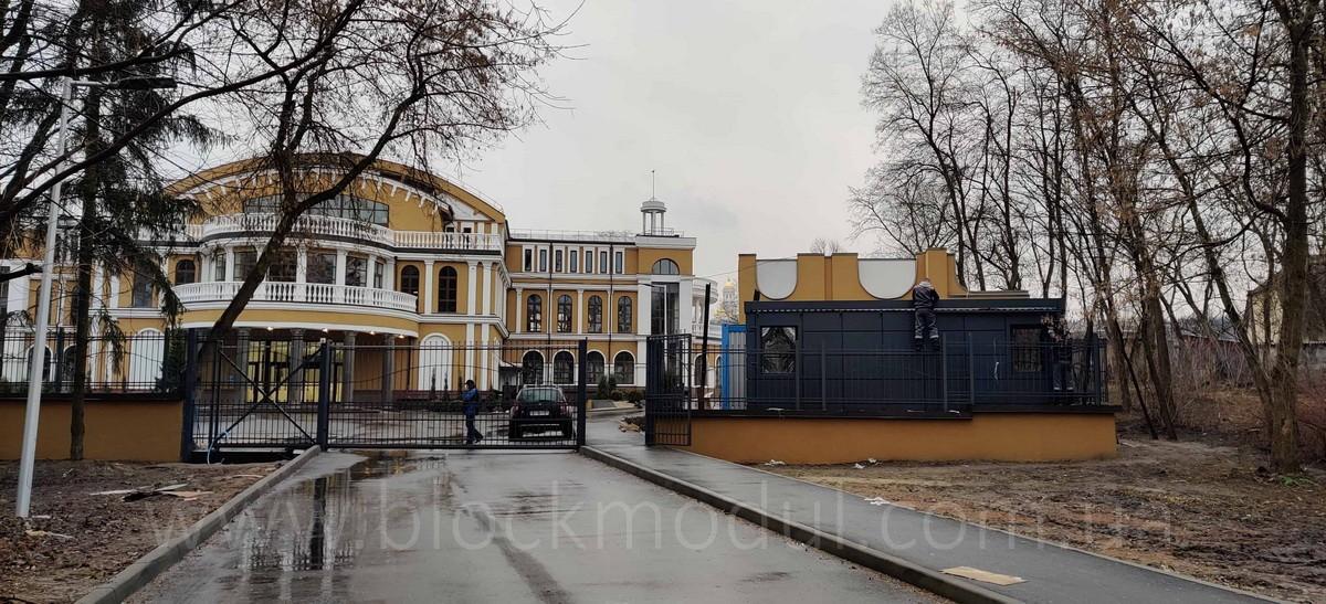 thumb_Пост охраны в Гидропарк для БЦ «ВЕНЕЦИАНСКИЙ» - Фото № 9